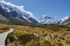Mount Cook - Hooker Valley (@robinlautier) Tags: mountain snow nz newzealand landscape paysage travel trip nikon d5100 explore nature outdoor