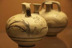 Minoic pottery (ramosblancor) Tags: fish history archaeology museum painted santorini greece grecia pottery museo pescado pintada historia cermica thera arqueologa minoic acrotiri minoico