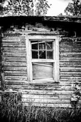 Fenestra de Ignotus Historia (bennettmurphyphotography) Tags: summer blackandwhite history window barn winnipeg farm country rustic memories manitoba simplicity latin prairies brokenwindow countrylife oldbarn