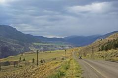 Open Land (sebastian.guettler) Tags: road sky cloud mountain canada grass truck britishcolumbia wide land kanada