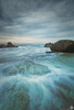 Forresters Storm (JeffSmithPhotography.com.au) Tags: storm water sunrise rocks australia nsw forresters rockshelf
