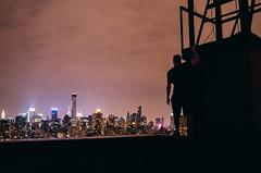 Night Watch (coreyvelazqueznyc) Tags: new york nyc longexposure roof light sky ny love rooftop beautiful night canon landscape amazing cool nikon manhattan fave breathtaking
