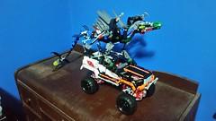 Guess what set I just got! (T.timman) Tags: set truck dragon treasure lego technic loot bionicle crawler