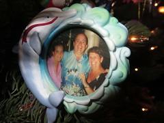 Trina, Barry, Betty photo ornament (BarryFackler) Tags: christmas family 2002 holiday tree home festive island hawaii dolphin decoration christmastree betty livingroom celebration ornament christmasdecoration shaka bigisland christmasornament trina kona captaincook yuletide 2014 alohashirt hawaiicounty southkona hawaiiisland westhawaii cookslanding captaincookhi captaincookhawaii bettybowen barryfackler barronfackler bettyfackler trinafellbaum 2002ornament