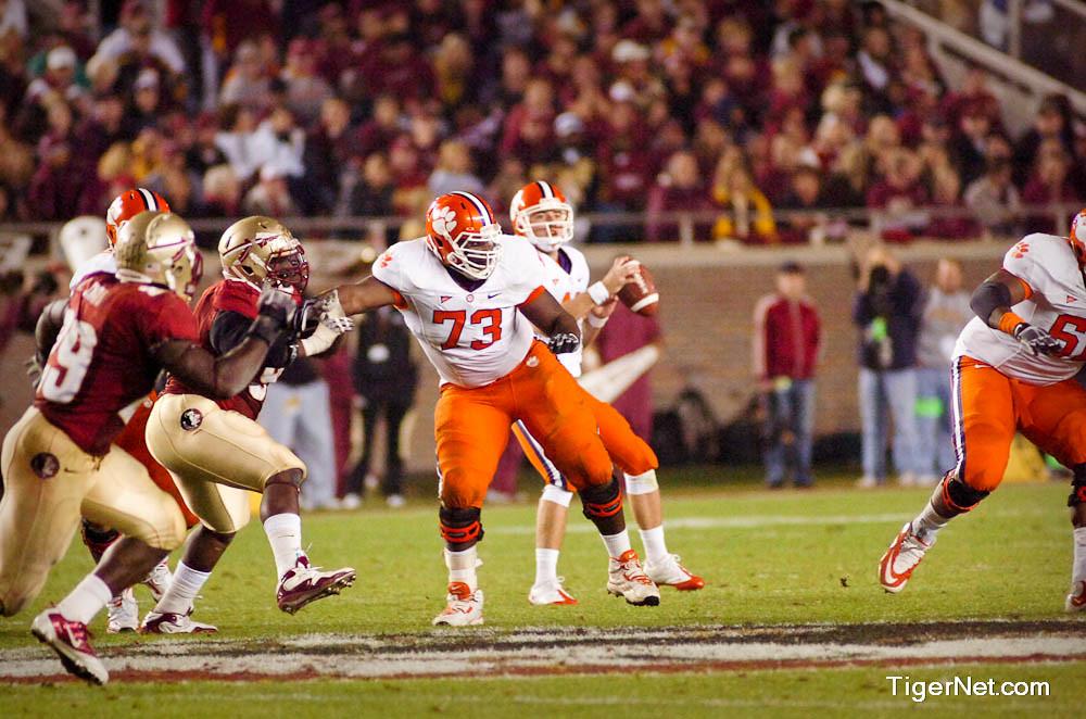 Clemson Photos: 2010, David  Smith, Florida  State, Football