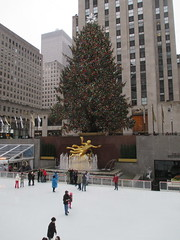 2014 Christmas Tree Rockefeller Center 3009 (Brechtbug) Tags: above christmas new york city nyc light sculpture holiday snow tree ice fountain up statue rock 30 night standing gold lights workers with skating decoration center ornament ornaments rink fountains rockefeller load lites shoveling oversize prometheus 2014 mythological 12282014