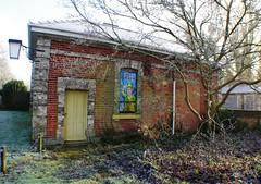 Old Railway Station at Clare Suffolk (Bury Gardener) Tags: uk england station suffolk clare rail railway eastanglia