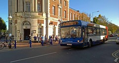 Stagecoach in Eastbourne, OV51KAO, Fleet No. 22948 (Gerry A Powell) Tags: bus coach eastbourne stagecoach infocus highquality eastkent 22948 terminusroad alexanderalx300 man18220 stagecoachinoxford ov51kao