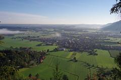 Grassau Achental (Aah-Yeah) Tags: fog bayern nebel foggy achental morgennebel nebelmeer chiemgau grassau staudach zeppelinhöhe egerndach