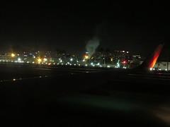 Departure from San Diego International Airport, San Diego, California
