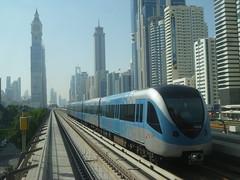 A metr a Sheikh Zayed Road mentn (sandorson) Tags: travel dubai uae unitedarabemirates  duba   dubaj    sandorson dubi egyesltarabemrsgek
