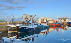 Fishing Boats, Troon (Time Out Images) Tags: boats scotland fishing harbour south united kingdom troon ayrshire
