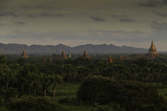 Temples in Bagan, Myanmar - some of the 3000 monuments (Nanooki) Tags: sunset lanscape bagan myanmarburma