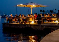 Dinner in Puerta Pollenca (Paul Copp) Tags: summer holiday mallorca infocus highquality
