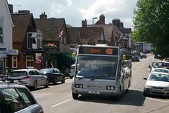 Solo Spread Eagle (bobsmithgl100) Tags: bus surrey solo e4 hrr ashtead thestreet suf optare qualityline yn53 epsomcoaches route408 yn53suf eb04 e4hrr
