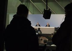 Press Conference (European Central Bank) Tags: frankfurtammain ecb finance pressconference interestrates europeancentralbank monetarypolicy draghi vitorconstancio eurozone mariodraghi euroarea financialbanking christinegraeff