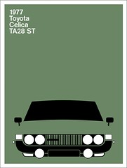 Print (Montague Projects) Tags: toyota 1977 celica japanesedesign carposter