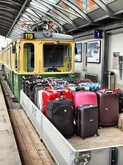 Alpine Rail Journeys 061 (saxonfenken) Tags: truck switzerland railway luggage number yellowgreen gamewinner 6920 thechallengefactory herowinner pregamewinner thechallengefactoryunam 6920trans