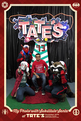 "Photos of TATE'S ""Substitute Santa"" on December 4, 2014. (TATE'S) Tags: santa christmas xmas holiday comics festive fun costume funny comic florida cosplay tate best southflorida broward guardians 2014 groot tates tatescomics starlord guardiansofthegalaxy rocketraccoon tatescomics substitutesanta subsanta"