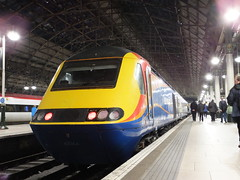 43066 Manchester Piccadilly (relex109.com) Tags: manchester with piccadilly trains class east number railtour 43 midlands hst 43066