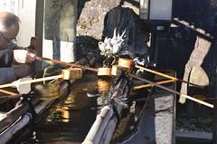 Water ladles (malinowy) Tags: winter water japan 35mm temple nikon buddhist spoon nippon nikkor zima narita woda ladle naritasan honshu shingon japonia swiatynia malinowy d7000 shinshōji malinowynet