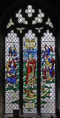 Bread of life, Raunds (TheRevSteve) Tags: church parish northamptonshire stainedglass anglican stpeter raunds francisskeat