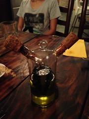 Bottle of oil and vinegar, Singapore (Jack at Wikipedia) Tags: bottle singapore italiancuisine oilandvinegar