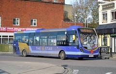 63050 SK63KJE (PD3.) Tags: uk england bus buses star group hard first hampshire portsmouth wright quays psv pcv fhd gunwharf hants firstbus kje wrightbus streetlite 63050 sk63 sk63kje