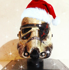 I wish you a happy holiday ! (Anas Ta mo) Tags: christmas holiday trooper art painting photography death star photo starwars amazing artist geek space helmet noel popart fanart gift figure scifi stormtrooper horror sw sciencefiction wars custom figurine destroyed destroy geekart theforceawakens gekkart