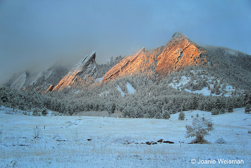 Photo - Joanie Weisman - Winter Sunrise on the Flatirons - Runner Up - Scenery