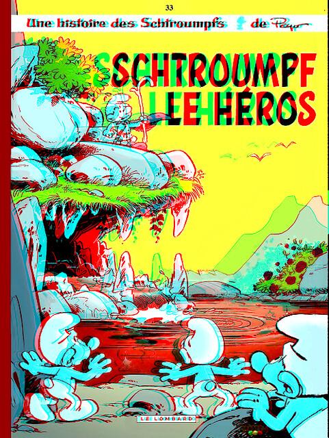 Schtroumpf le heros en 3D 02