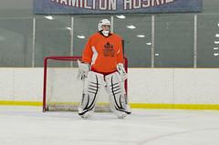 SAELKERR (Riley Kool) Tags: canada ice hockey goalie nikon hamilton huskies canadian arena gloves rink blocker pads d700 d7000