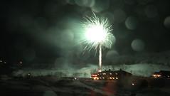 New Year #3 (theblueraindrop) Tags: new winter snow december sweden bokeh year january firework scandinavia katterjåkk katterjokk