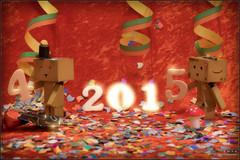 Happy New Year (Only in RAW ) Tags: japan canon toys happy robot amazon fuji box weekend explorer mini days cardboard danny fujifilm 365 fujinon danbo amazoncojp 366 toyphotography xt1 revoltech danbee xphoto xshooter danboard 366daysproject minidanbo fxlens