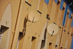 DSC_3401 [ps] - Utterly Seamless (Anyhoo) Tags: houses urban colour wall architecture modern germany deutschland community camouflage freiburg baden neighbourhood satellitedish vauban badenwrttemberg colourcoordinated freiburgimbreisgau anyhoo photobyanyhoo
