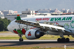 EVA AIR A330-300 B-16332 Hello Kitty (Steven Weng) Tags: hello canon eos eva aircraft air kitty tsa a330300 rcss  b16333