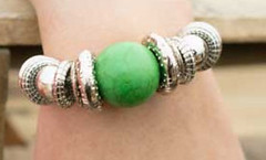 Glimpse of Malibu Green Bracelet K1 P9430-3