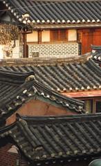 SEOUL BUKCHON HANOK VILLAGE ROOF (patrick555666751) Tags: bukchon hanok village seoul south korea coree du sud asie asia east toit roof