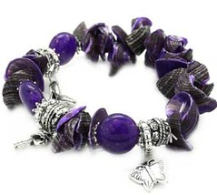 Glimpse of Malibu Purple Bracelet P9613-4