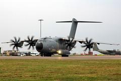 Brize Norton - Airbus A400M (RAF) ZM400 (jamfran) Tags: cargo airbus atlas grizzly raf a400 taxiway bzz brizenorton propblur