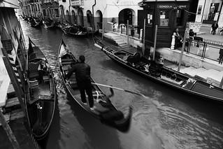 Life is...........~ Gondolas , Canal @ Rio de San Moisè  , Venezia  威尼斯~