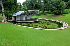 Shaw Foundation Symphony Stage, Symphony Lake, Singapore Botanic Gardens (Black Diamond Images) Tags: singaporebotanicgardens singapore symphonylake shawfoundationsymphonystage singaporesymphonyorchestra explore bdi