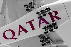 Qatar Airways Airbus A380 (Rami Khanna-Prade) Tags: canon airport aircraft airbus a380 toulouse aeroport blagnac avion tls rami qatar 70200mm qtr airbusindustrie superheavy a380800 a388 lfbo a380861 fwwsg 5dmkii aeroporttoulouseblagnac 5dmkiii toulouseblagnacairport msn160 a7apd ramikhannaprade
