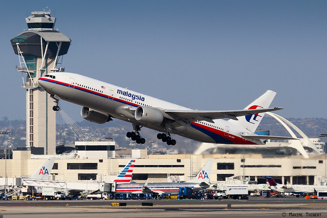 Los Angeles B777-200ER 9M-MRO Malaysia Airlines