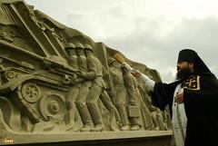 85. Открытие памятника воинам ВОв 2003 г