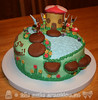 Fairy Cottage Cake