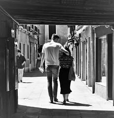 """Tutta la notte a pensare ""ti amo"" "" De Gregori (Mango*Photography) Tags: street boy bw white black love girl hug couple photographers guys lovers photoraphy unusual giulia bergonzoni"