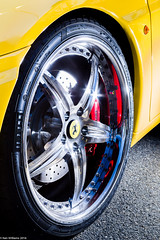 Yellow Ferrari_9710 (KenWilliamsPhoto) Tags: show may ferrari target nashua 2016