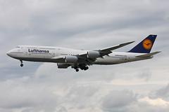 "Lufthansa Boeing 747-830 D-ABYH  ""Thringen"" (Kambui) Tags: germany deutschland thringen airplanes planes lufthansa fra frankfurtammain aviones avions flugzeuge rheinmain  avies eddf aeroplani 747800 kambui  boeing747800 747830 boeing747830 dabyh"