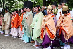 The day of festival (Teruhide Tomori) Tags: festival japan kyoto historic clothes event   kimono tradition japon